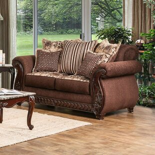 Dahlin Loveseat by Fleur De Lis Living Spacial Price