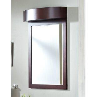 Winston Porter Rosemont Birch Wood-Veneer Wall Mirror