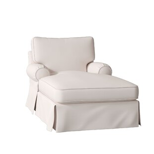 Lily Slipcovered Chaise Lounge By Wayfair Custom Upholstery™