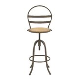 Burch Adjustable Height Bar Stool by Breakwater Bay