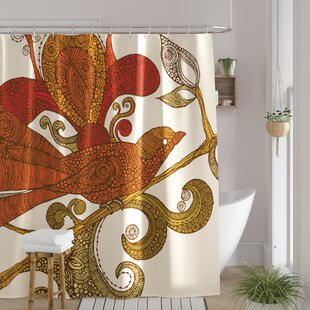 Deepak Bird Single Shower Curtain
