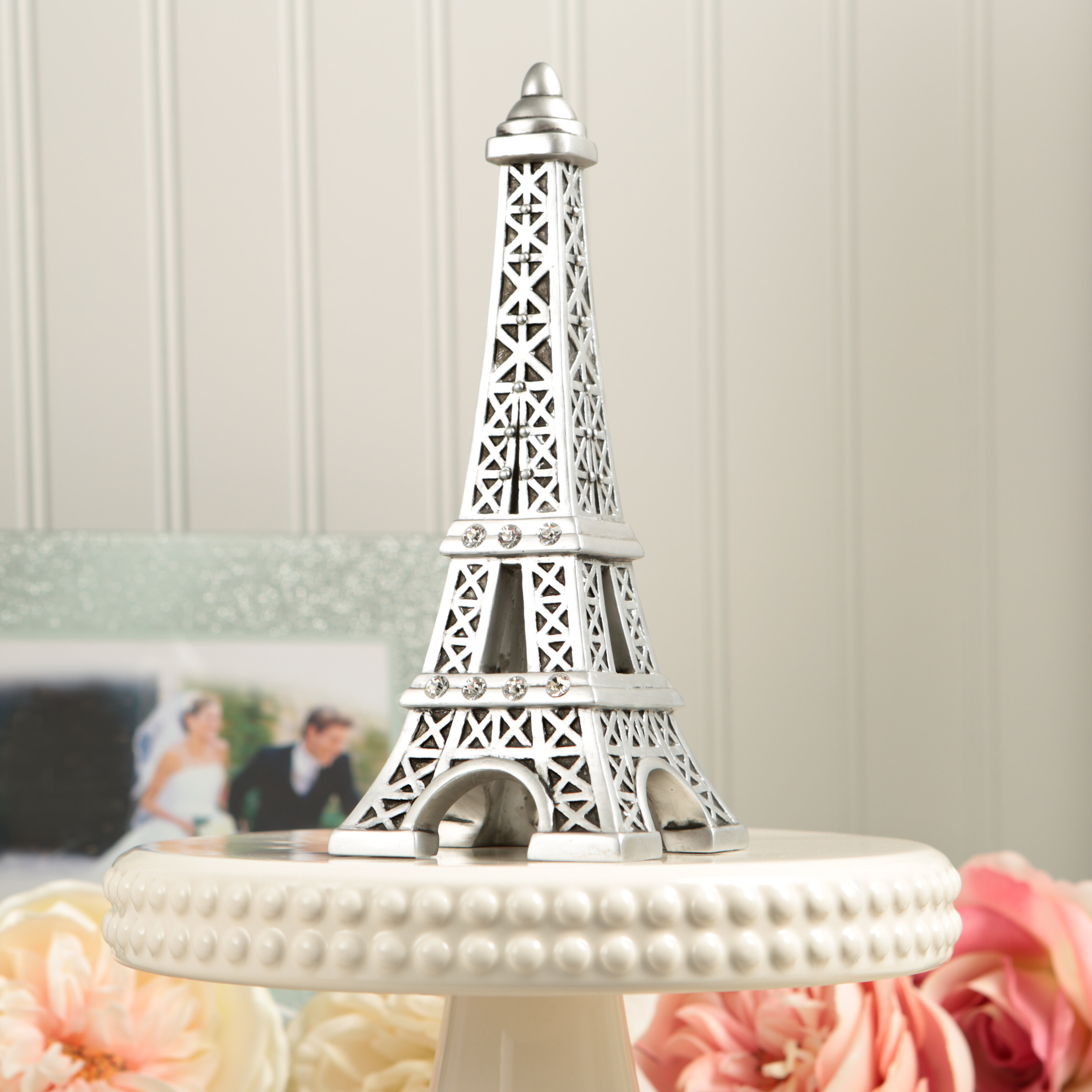 FashionCraft Eiffel Tower Centerpiece and Cake Topper | Wayfair