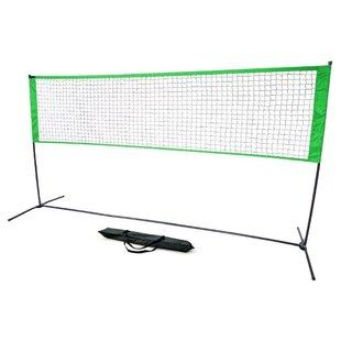 Trademark Innovations Sturdy Knotless Mesh Volleyball Net