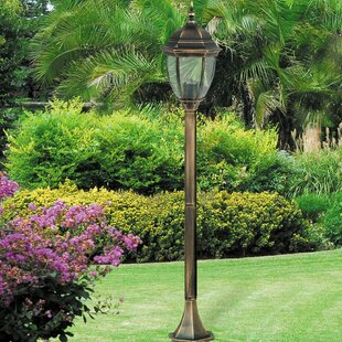 Carone 1-Light 113cm Post Light By Ophelia & Co.
