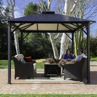 Durham 10 Ft. W x 12 Ft. W Aluminum Patio Gazebo by Paragon-Outdoor