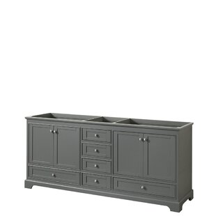 Deborah 79 Double Bathroom Vanity Base Only By Wyndham Collection