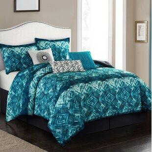 Bungalow Rose Wing 7 Piece Comforter Set