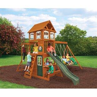 8d0de9ff83c Wood Swing Sets You ll Love