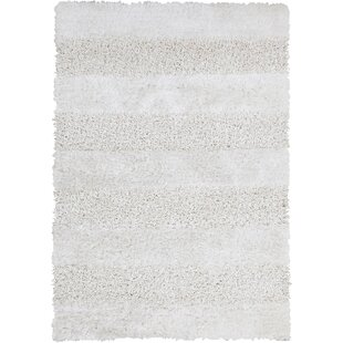 Winfrey White Area Rug ByDarby Home Co