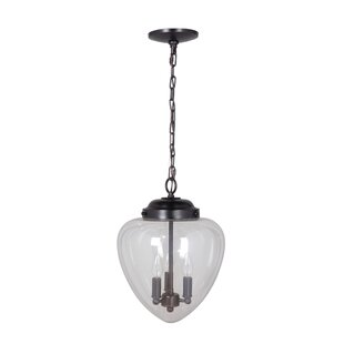 Hardwired 3 Light Schoolhouse Pendant