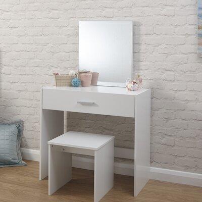 Schminktisch-Set Uli mit Spiegel | Schlafzimmer > Kommoden | Modern You