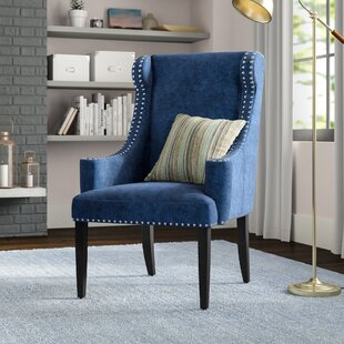 Check Prices Farley Wingback Chair by Alcott Hill Reviews (2019) & Buyer's Guide