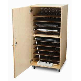 10 Compartment Laptop Storage Cart