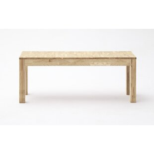 Cropper Wood Bench By Natur Pur