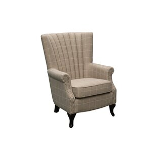 Matha Wingback Chair By Brambly Cottage