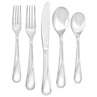 Find for Capers Mirror 20 Piece Flatware Set- Service for 4 Best Reviews