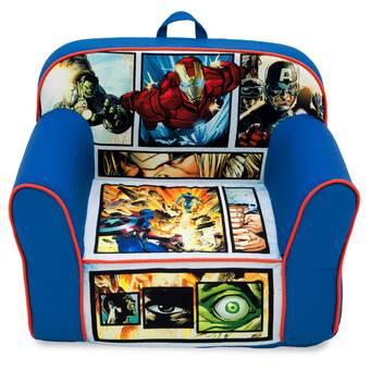 Fantastic Delta Children Marvel Avengers High Back Upholstered Kids Pabps2019 Chair Design Images Pabps2019Com