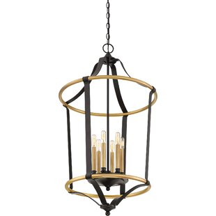 Union Rustic Lopez 6-Light Foyer Pendant