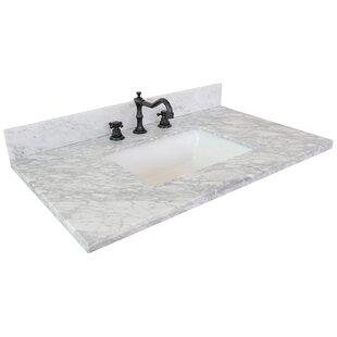 37 Single Bathroom Vanity Top by Bellaterra Home