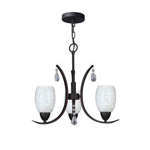 Darby Home Co Berenice Modern 3-Light Shaded Chandelier