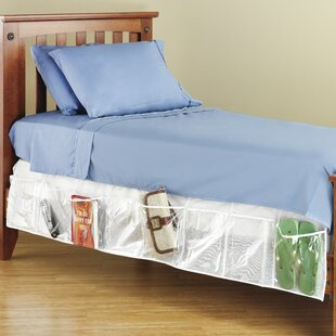 Bed Skirt Organizer by Whitmor, Inc Today Sale Only