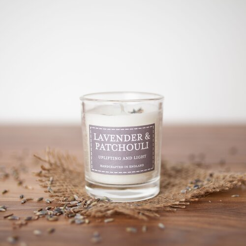 Lavender and Patchouli Scented Jar Candle (Set of 2) The Country Candle Company