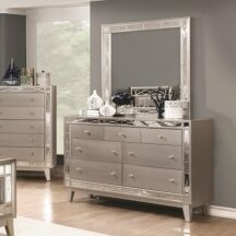 Alessia 7 Drawer Dresser with Mirror by Willa Arlo Interiors
