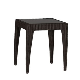 Athena Wicker Side Table