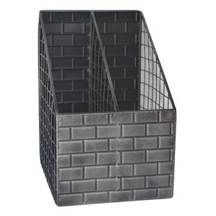 Brick Design Metal Desk Organizer By Cheungs