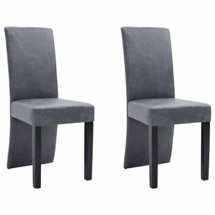 Elsine Upholstered Dining Chair Set of 2 by Ebern Designs