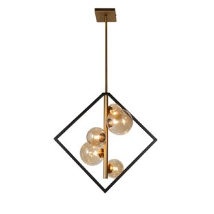 Coder 5-Light LED Chandelier b..