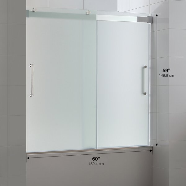 x tub halo maax left tempered door clear glass right in with sliding opening pattern and
