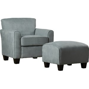 Great Northern Armchair and Ottoman by Red Barrel Studio