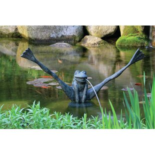 Aquascape Resin Crazy Legs Frog Spitter Fountain