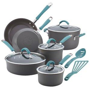 Cucina Hard Anodized Non-Stick 12 Piece Cookware Set