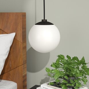 Langley Street Samira 1-Light Globe Pendant