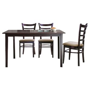 Baxton Studio Keitaro 5 Piece Dining Set by Whol..