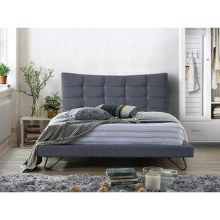 Best Jahnke Upholstered Bed Frame