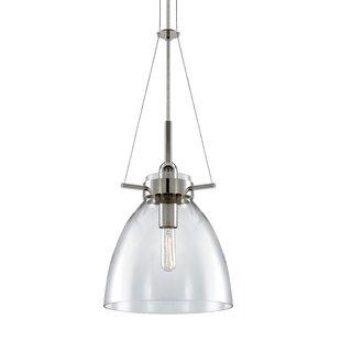 Castelli 1-Light Bell Pendant by Sonneman