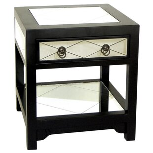 Hannes End Table by House of Hampton