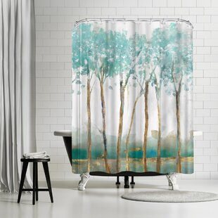 East Urban Home PI Creative Art Movement Shower Curtain