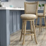 Joanne Swivel Bar & Counter Stool by Greyleigh™
