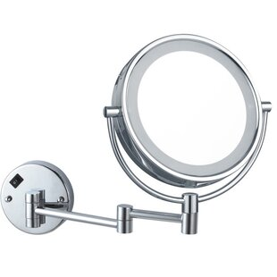 Glimmer by Nameeks Double Face Round Bathroom / Vanity Mirror