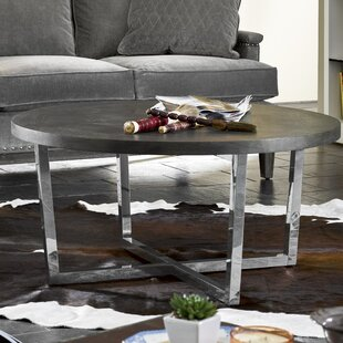 Wade Logan Baer Oval Coffee Table