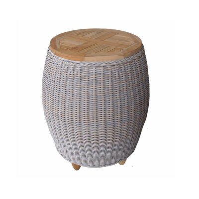 Damion Solid Wood Side Table by Bayou Breeze Great price