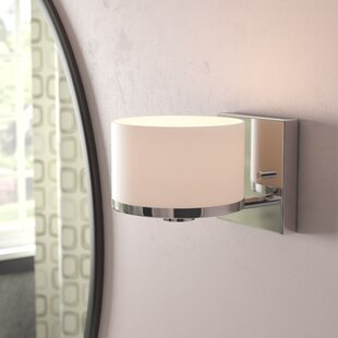 Curtin 1-Light Bath Sconce by Ebern Designs