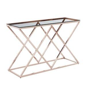 Clarendon Diamond Console Table ByOrren Ellis