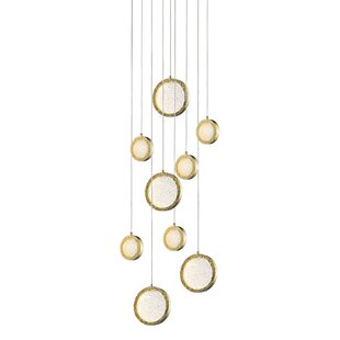 Holmberg 9-Light LED Pendant by Bloomsbury Market