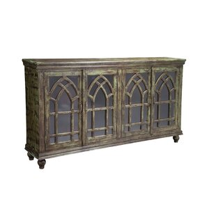 Poona 4 Door Accent Cabinet