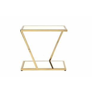 End Table by Worlds Away 2019 Sale